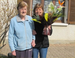 CCAS - Les 85 ans de Mme Jeannine Sainte-Marie