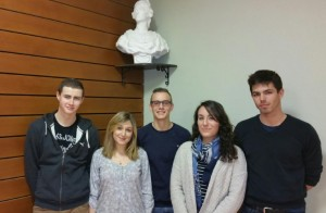 Bureau de l'association des Jeunes Douvrois - Février 2015