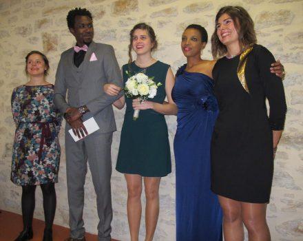 Claire, Jimmy et leurs témoins